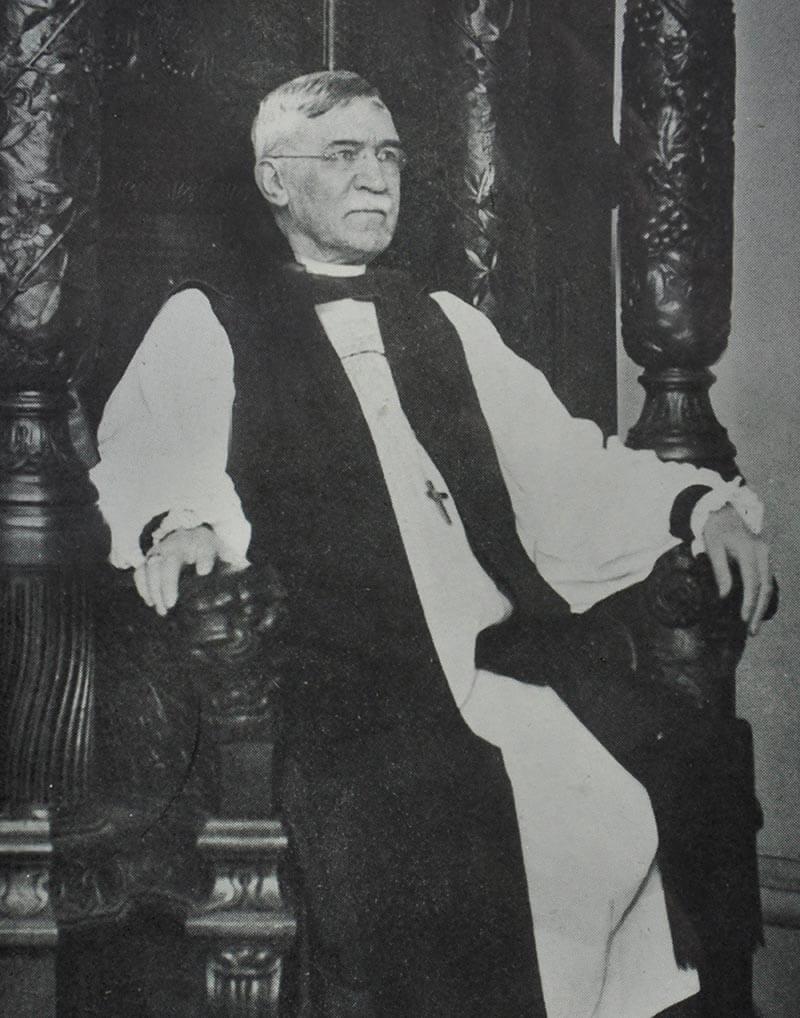 The Rt. Rev. F.F. Reese, Fourth Bishop of Georgia