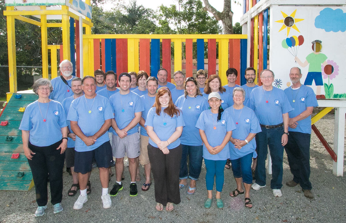 The 2015 mission team members. Click this image to see more photographs from this trip.