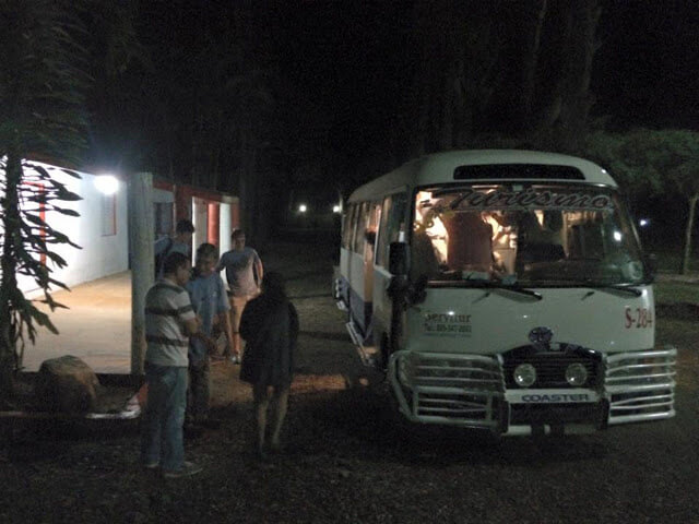 Arrival at the Campamento. Click this image to see more photographs from this trip.
