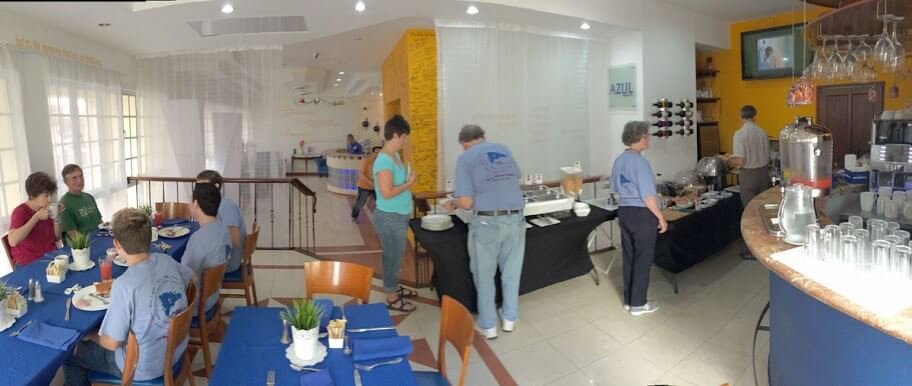 Breakfast in our hotel Monday morning. Click this image to see more photographs from this trip.