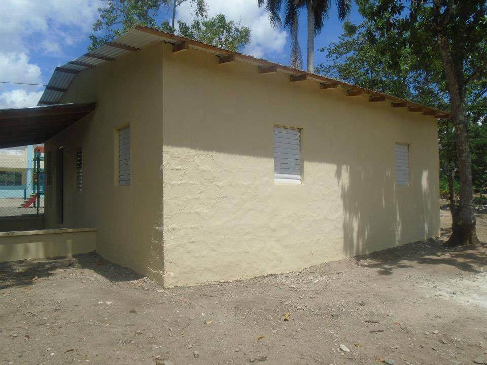 The construction of the day care center was completed in August using funds that we had left behind. Click this image to see more photographs from this trip.